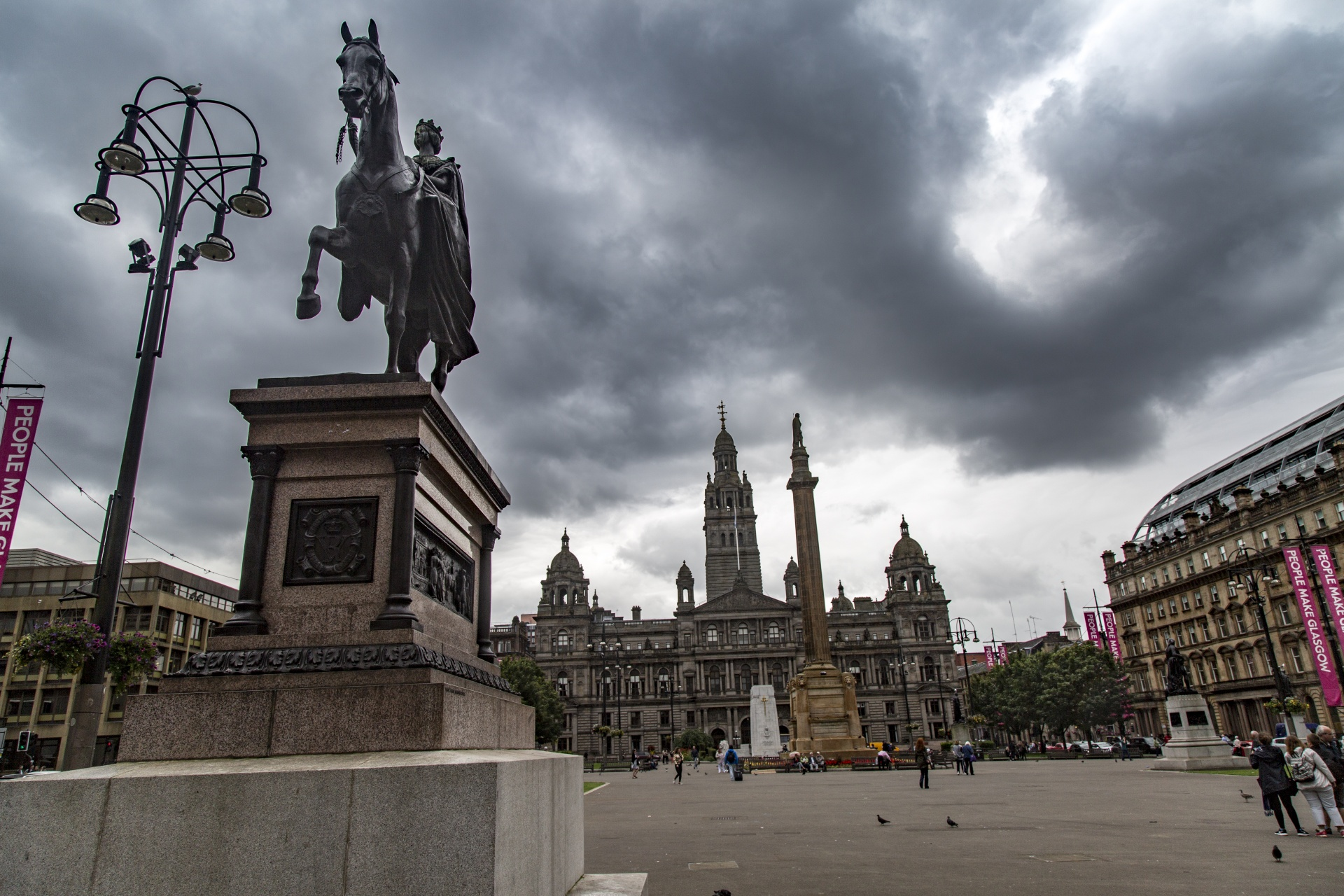glasgow city in scotland 1474099021aJm Visit Glasgow in 2021 For Your Love Of Art