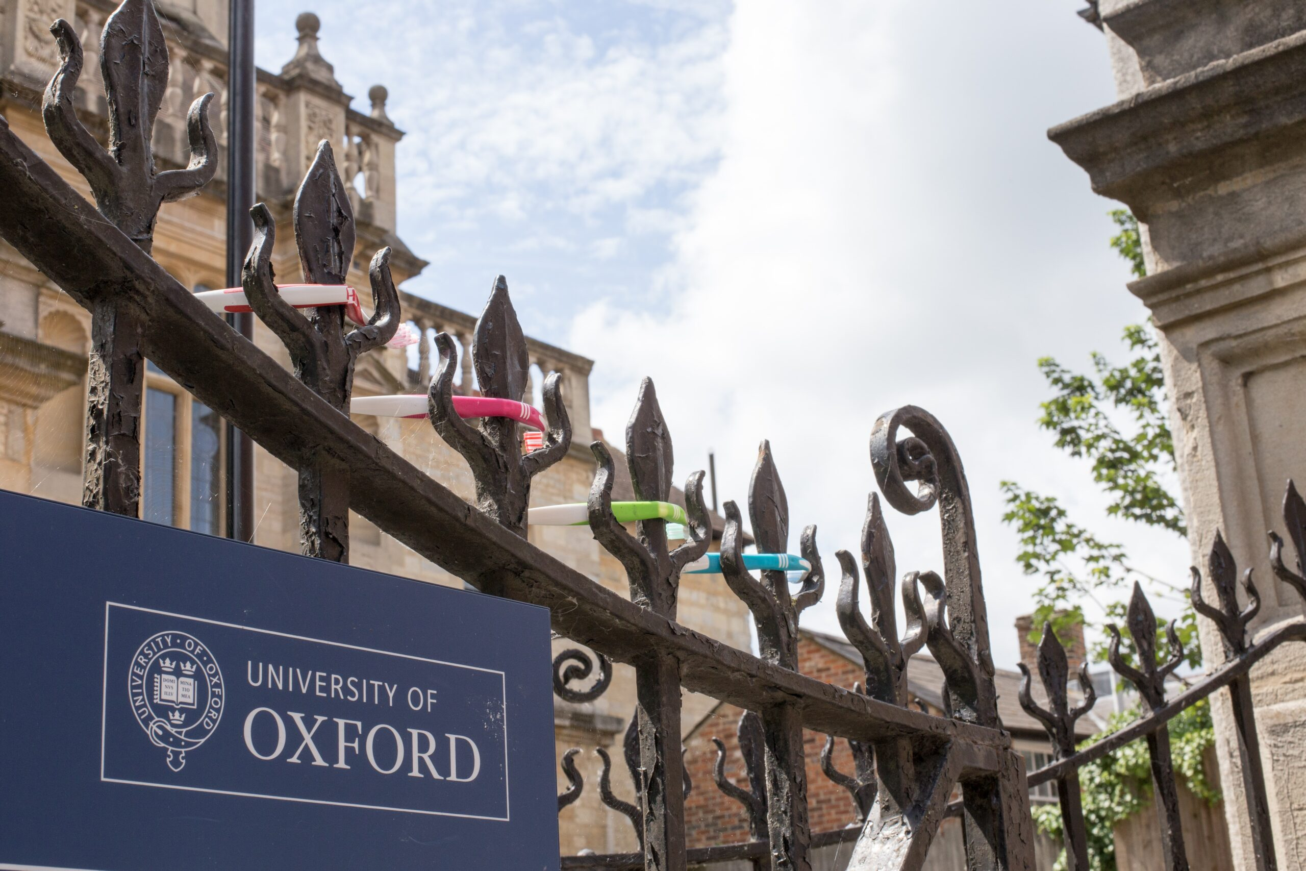 Master scholarship at Oxford University