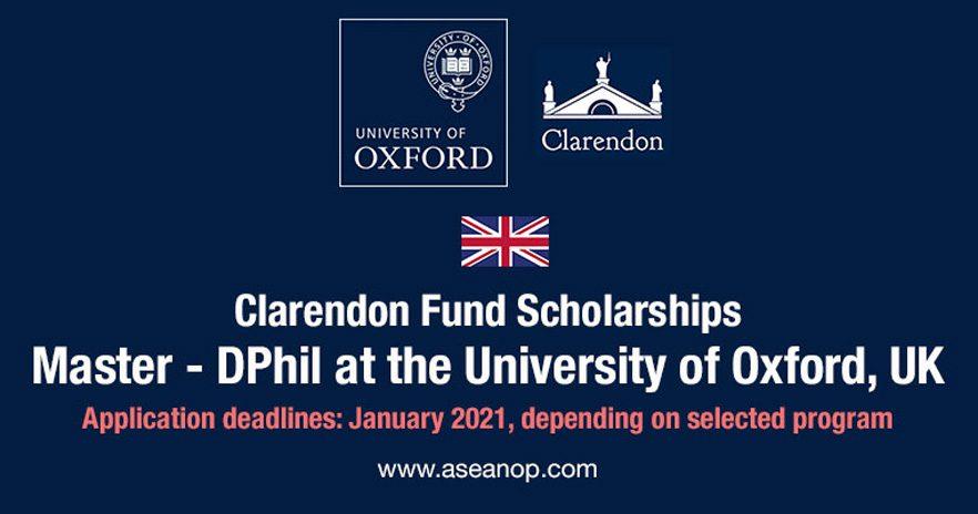 Clarendon scholarship program