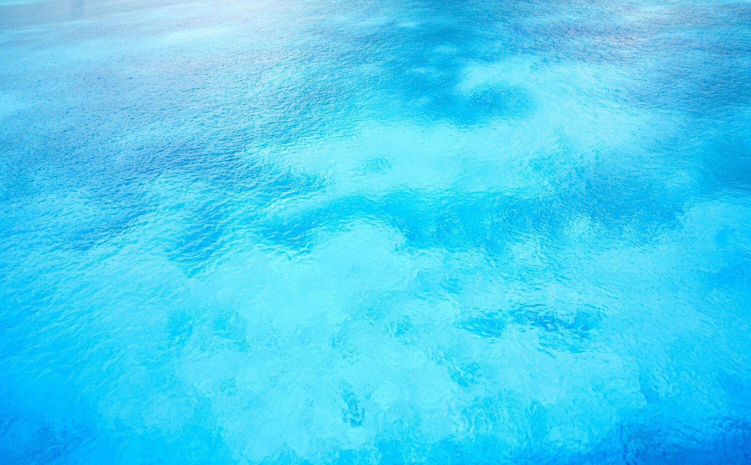 Places with the bluest water