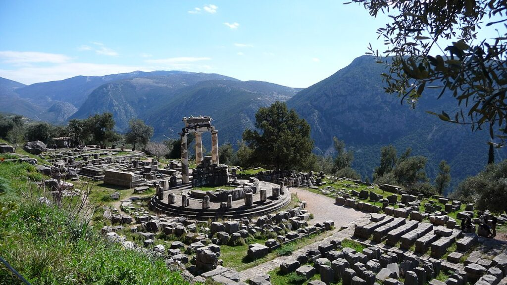 1200px Delphi Greece panoramio 16 Beautiful And Captivating Sites In Europe You Have To Visit