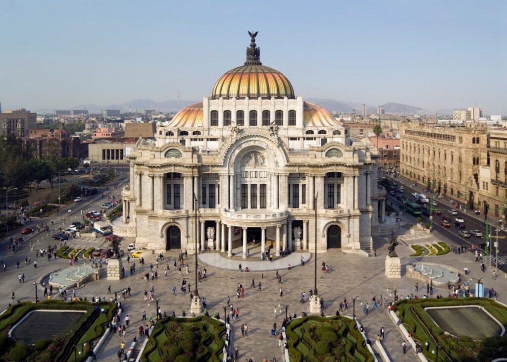 1327154 palacio de bellas artes mexico city 1 2021 Best Travel Destinations With No Coronavirus Restrictions
