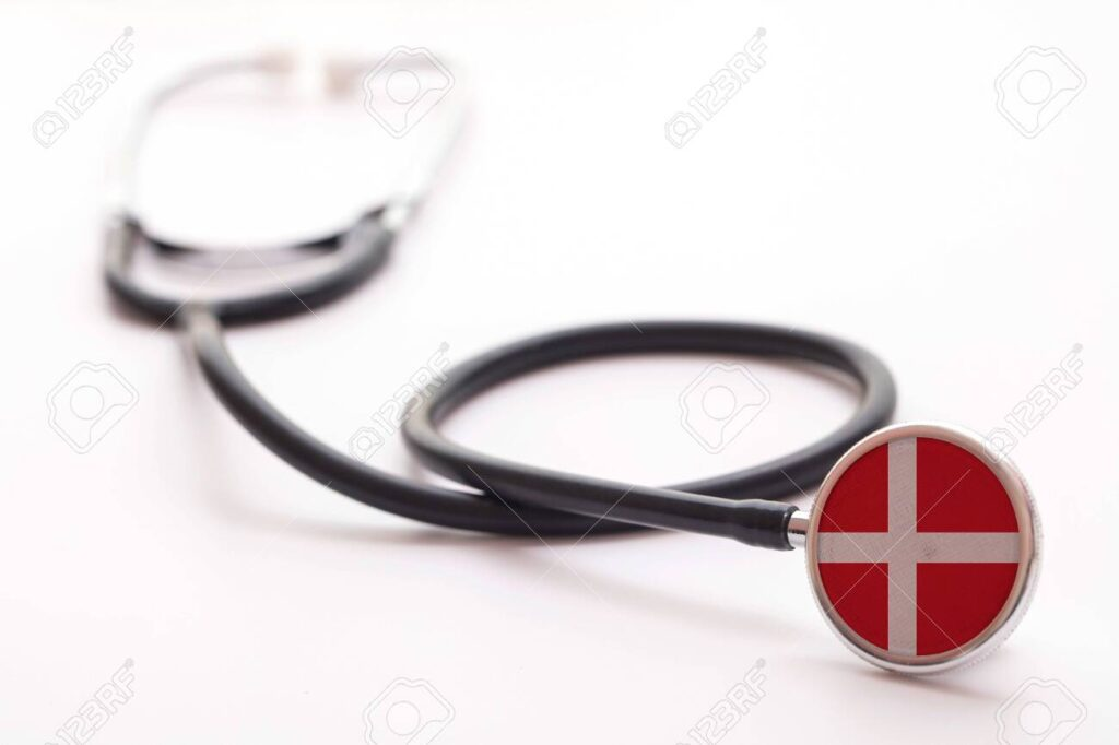 140639894 denmark healthcare concept medical stethoscope with country flag 10 Countries With The Best Healthcare Systems On Earth