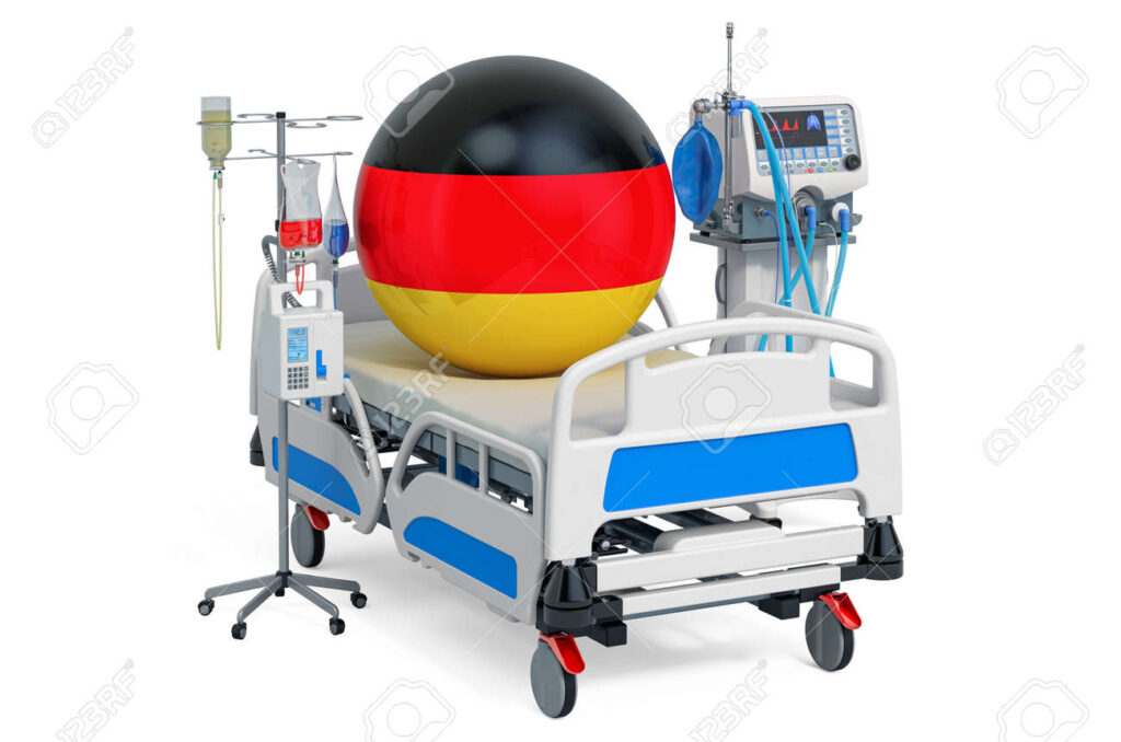 143030205 german healthcare icu in germany 3d rendering isolated on white background 1 10 Countries With The Best Healthcare Systems On Earth