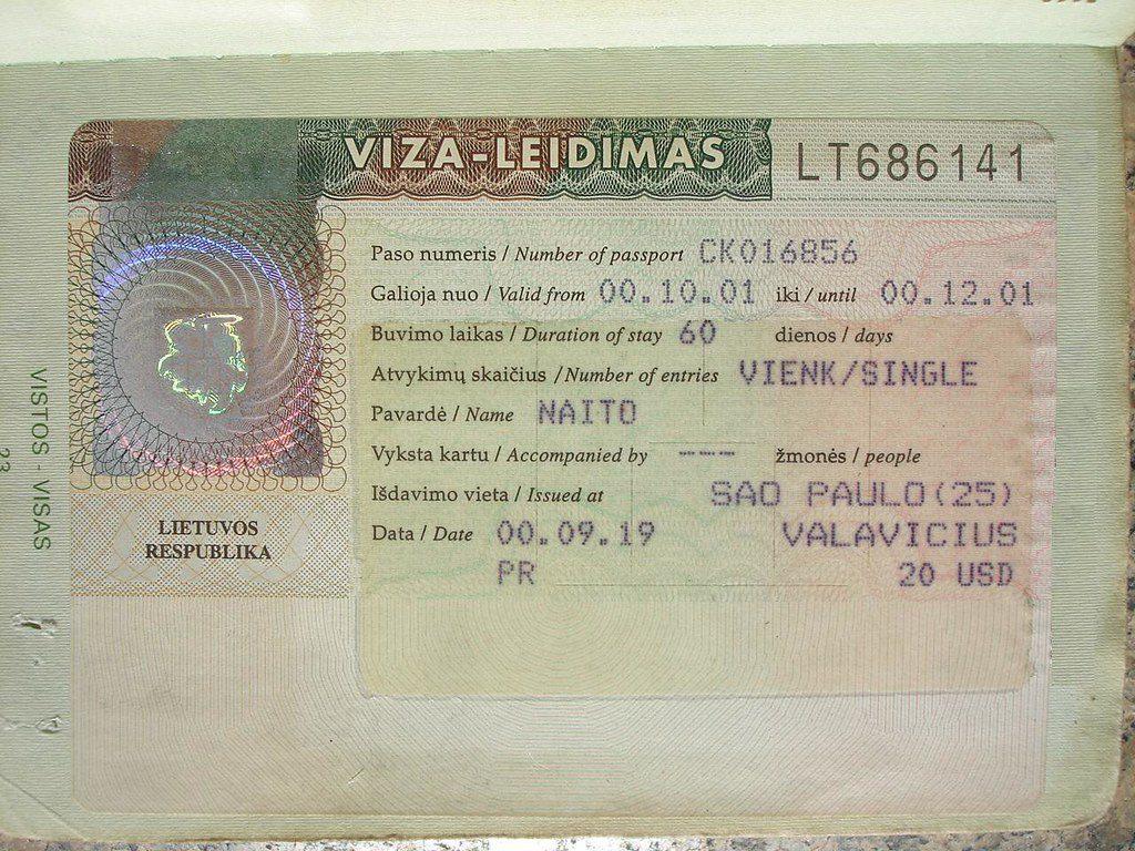 5816421059 6c86c8e16c b 1 A Comprehensive 3 Steps Guide to Lithuania Visa Applications