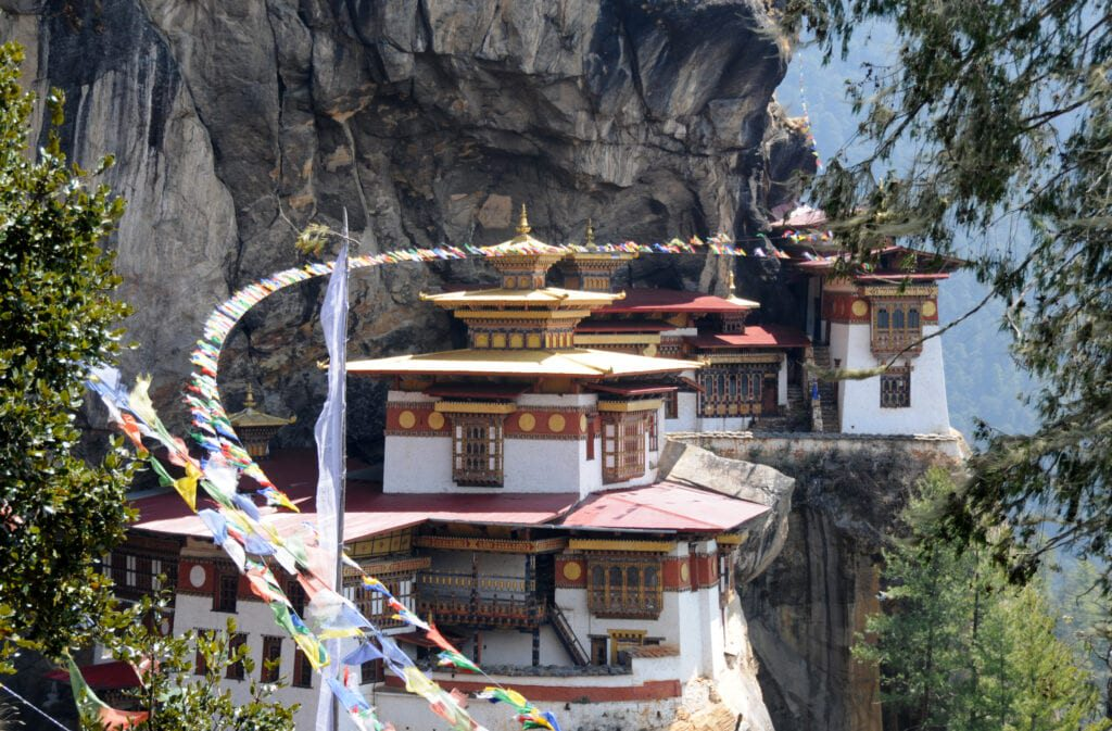 BHUTAN PARO TAKSAN 1024x673 1 10 Most Difficult Countries To Get a Visa. No. 8 Will Shock You!