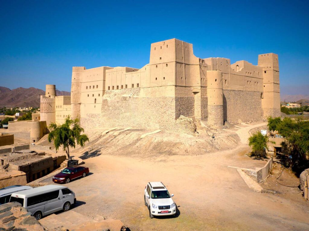 Bahla Fort Exterior 6 Countries With The Most Captivating Heritage sites In The Middle East