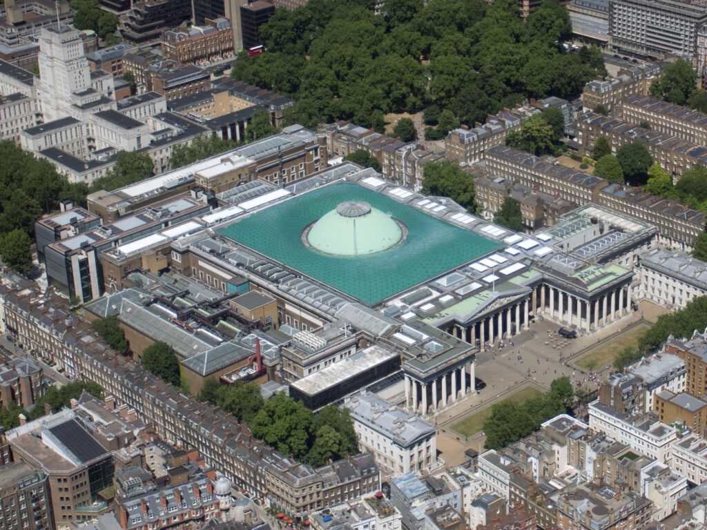 British Museum aerial 15 Great Black History Sites To Visit In Your Lifetime