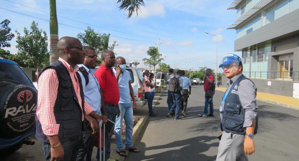 Especialistas do Governo e da OMS durante a partida para a missao contra a COVID 19 0 A Complete Guide To Angola Visa Application