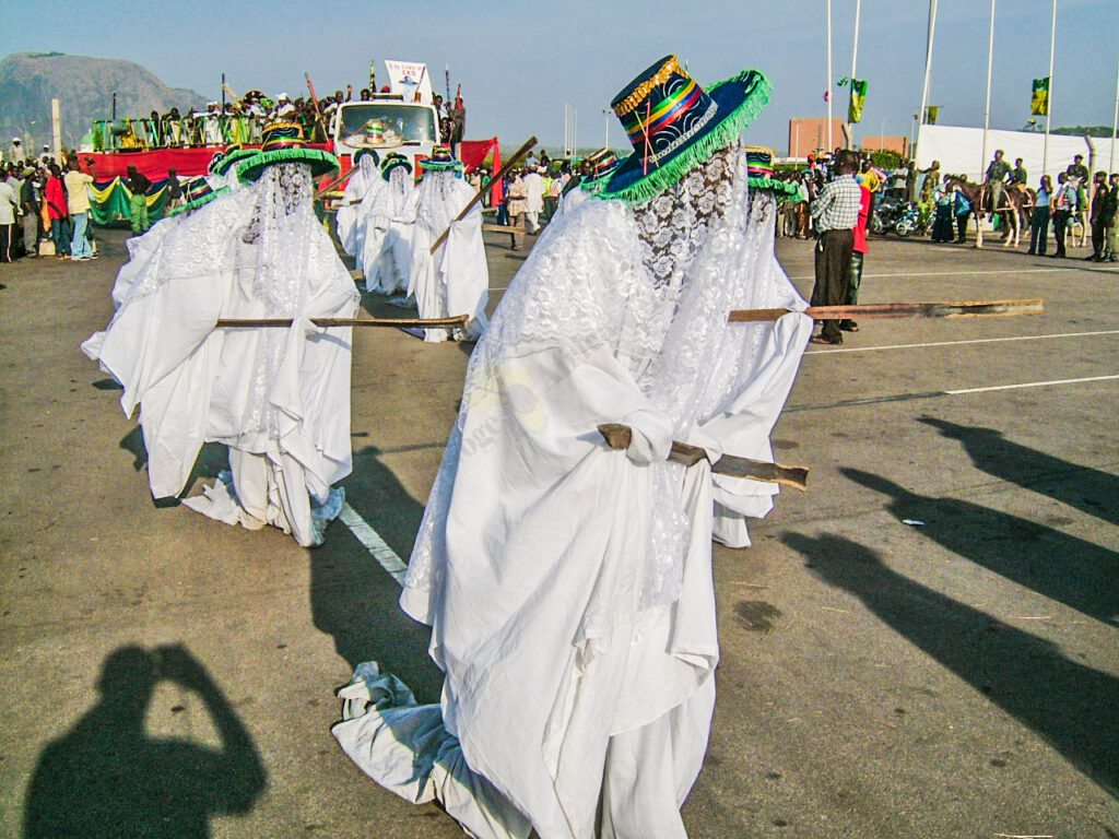 Eyo masquerades. Lagos State Nigeria 1024x768 1 22 Incredible Events Holding This December In Nigeria