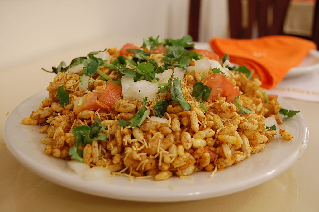 India velpuri bhelpuri 5 Countries With The Best Street Foods