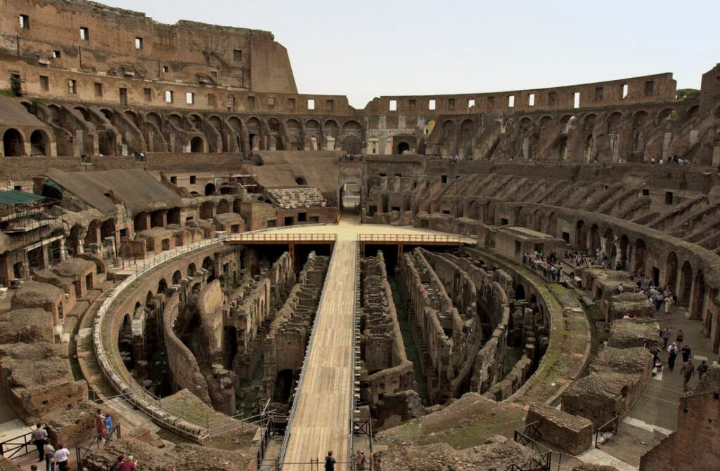 Interior Colosseum Rome Iconic Buildings, The Top 24 Most Beautiful Structures Around The World