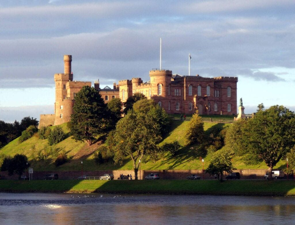 Inverness Castle and River Ness Inverness Scotland conner395 1024x782 1 10 Must-Visit Places In The United Kingdom