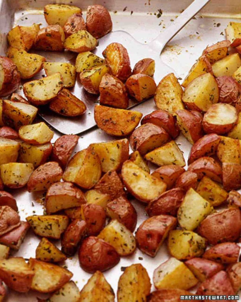 Roasted Red Potatoes 5 Meals To Eat On A Christmas Night