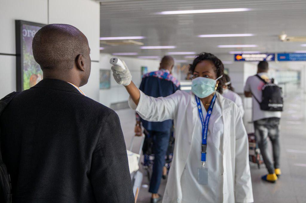 Screening of passengers Maya Maya airport Bzv 2 World Leaders Plan To Make Covid-19 Vaccine Mandatory For Travel.