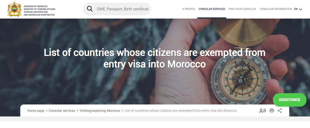 Screenshot 2021 01 06 173321 A Comprehensive Guide To Morocco Visa Application