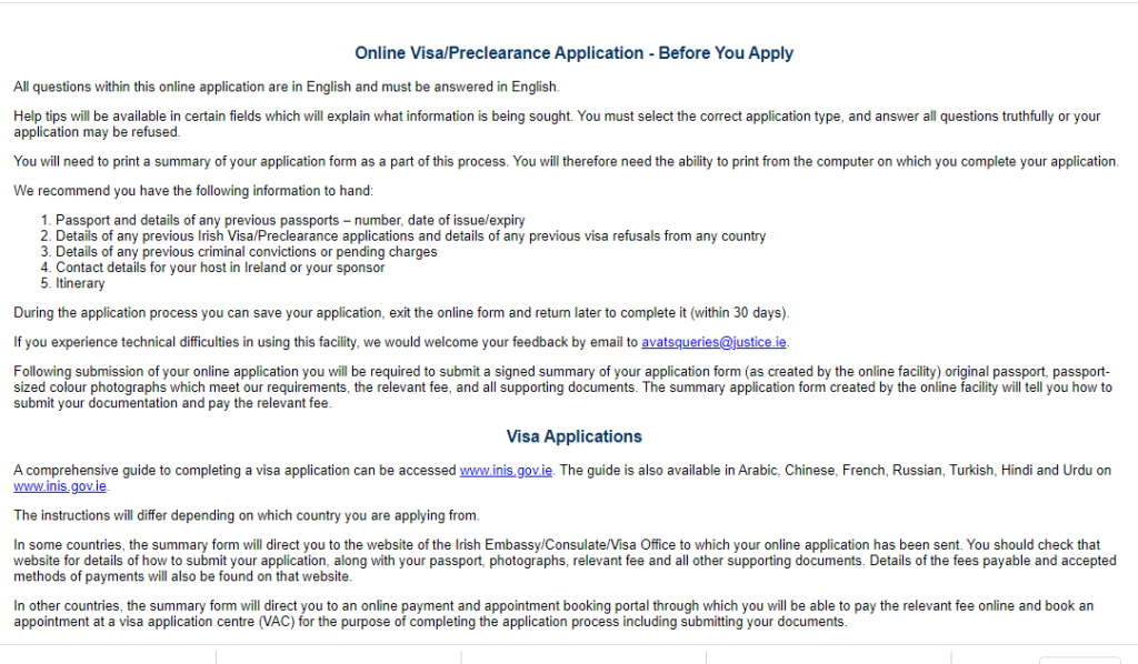 Screenshot 46 1024x598 2 An Ultimate Guide To Ireland Visa Application