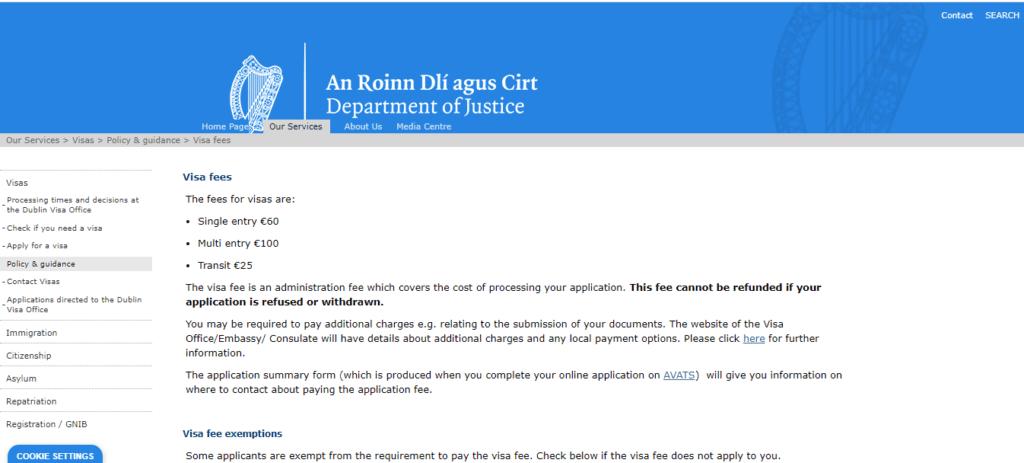 Screenshot 47 1024x463 1 An Ultimate Guide To Ireland Visa Application