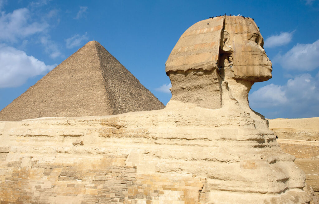 Side view Sphinx Great Pyramid of Khufu 6 Countries With The Most Captivating Heritage sites In The Middle East