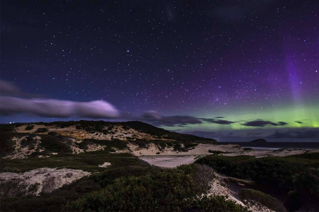 Southern Lights in Tasmania Featured 10 Countries With The Most Captivating Natural Attractions On Earth