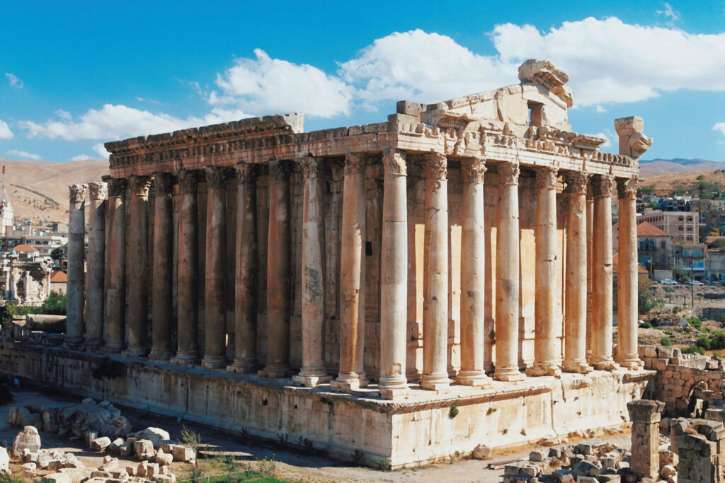 Temple of Bacchus Baalbeck Lebanon 6 Countries With The Most Captivating Heritage sites In The Middle East