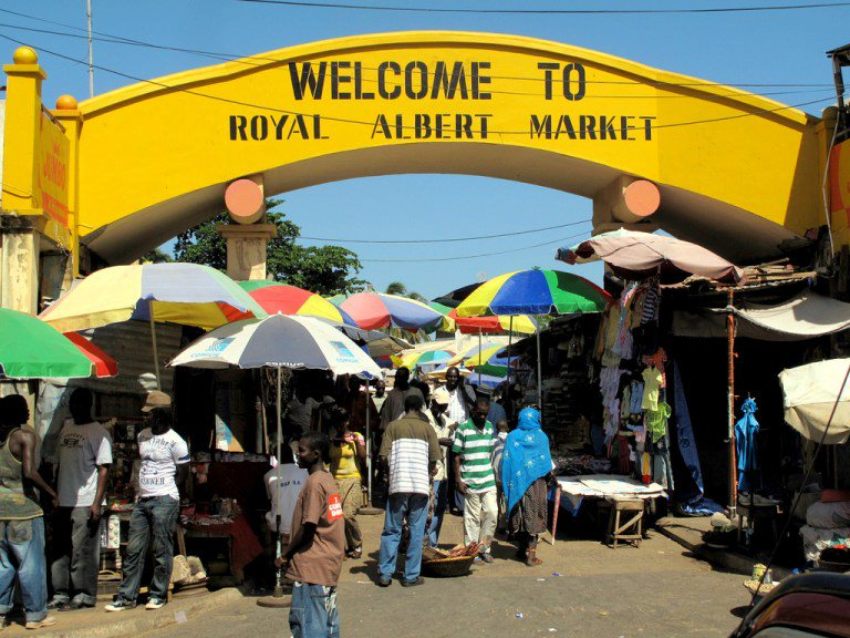 albert market 2 15 Must Visit Places In The Gambia!