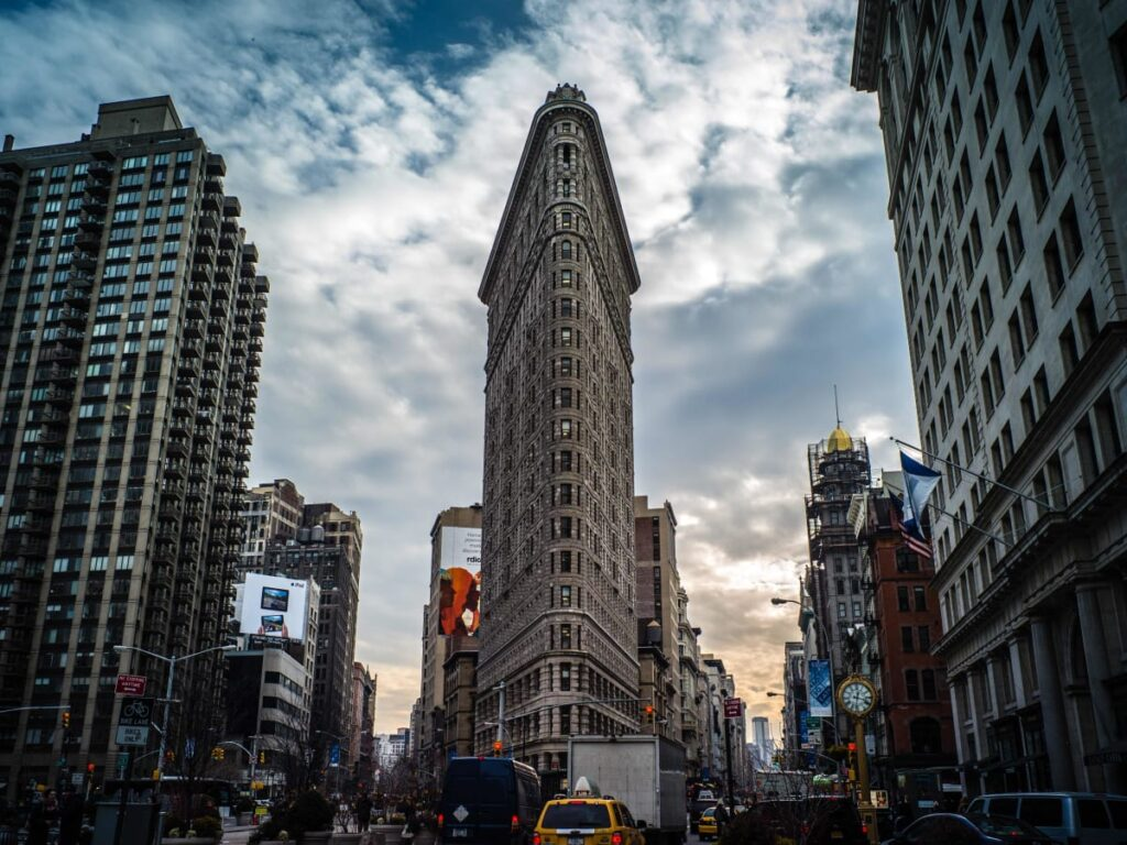 clouds over flatiron building nyc 2 Iconic Buildings, The Top 24 Most Beautiful Structures Around The World