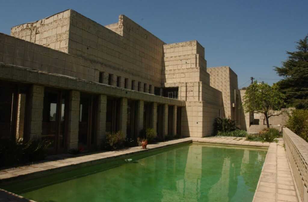 ennis house 10 Beautiful Houses Designed By Frank Lloyd Wright You Must See