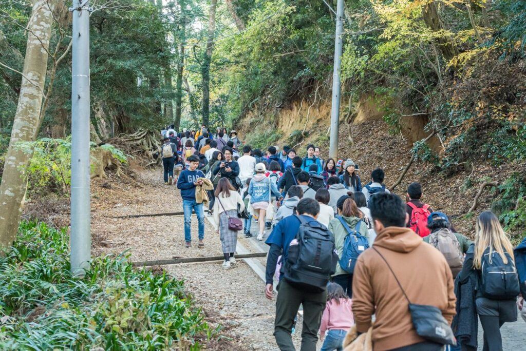 hikers to mt takao 5 Interesting Things To Do In Tokyo This Pandemic