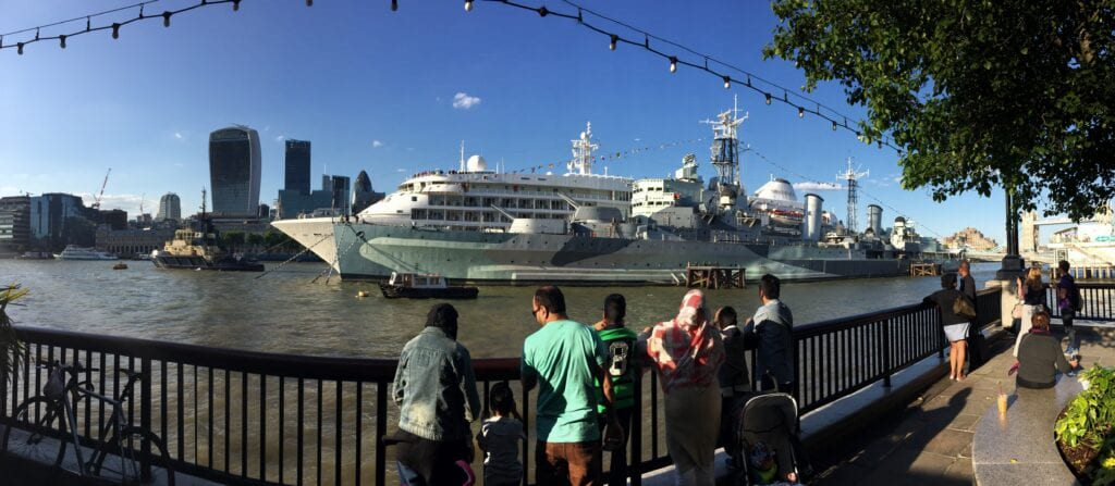 hms belfast 1024x447 1 10 Must-Visit Places In The United Kingdom