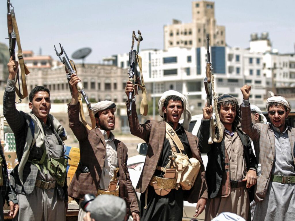 houthis sanaa yemen 21sep2019 afp edit 17 Most Unsafe Countries In The World For Travel