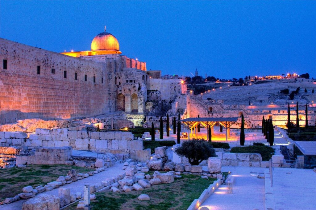 tourist attractions in the middle east
