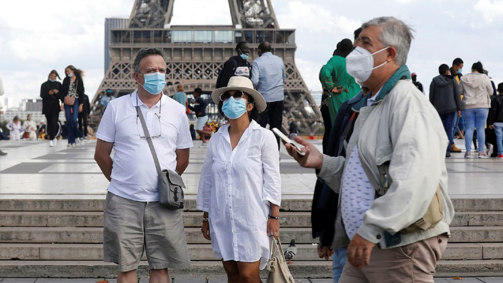 paris masks 2048 1 Immigrant Frontline Workers Get French Citizenship.