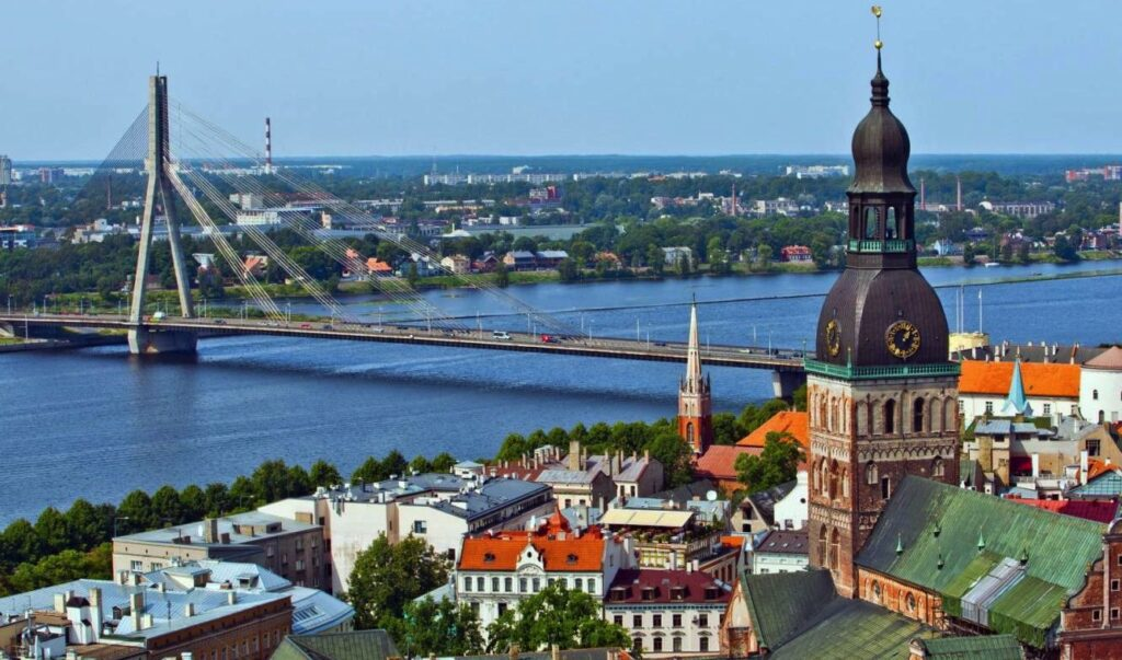 riga old town view 2021 Best Travel Destinations With No Coronavirus Restrictions