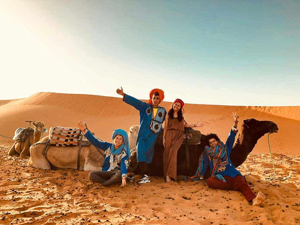 destinations for a desert tour in the middle east