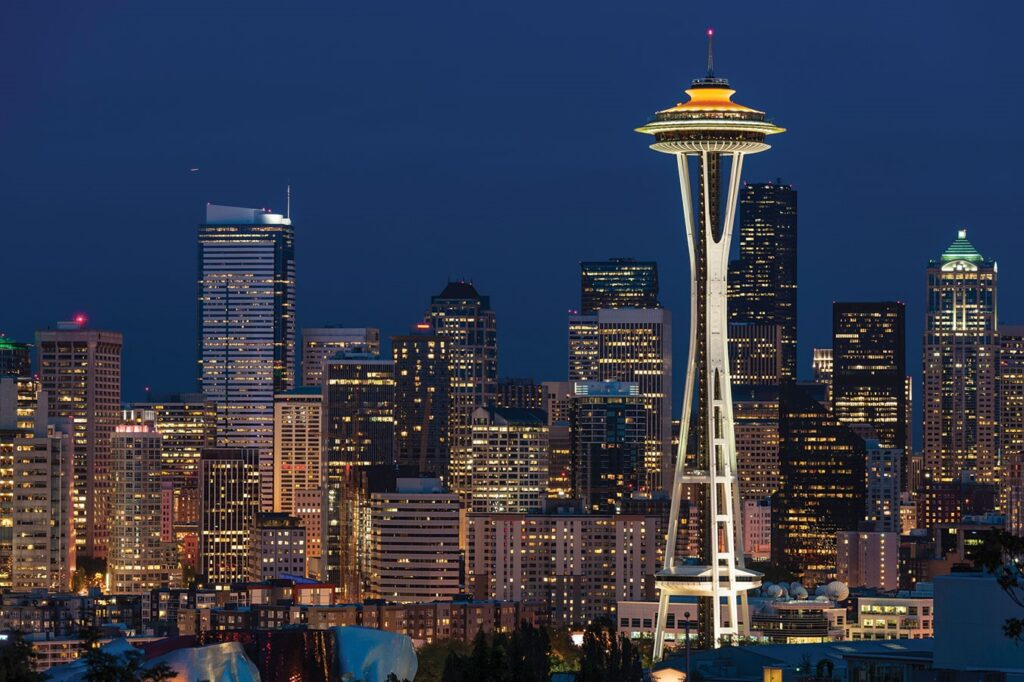 space needle Iconic Buildings, The Top 24 Most Beautiful Structures Around The World