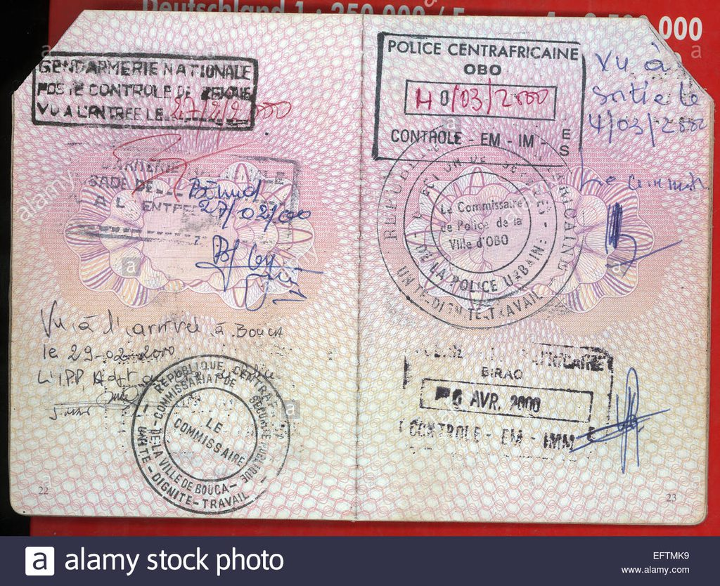 visa nobody central african republic 2000 landlocked country in central EFTMK9 A Complete Guide Central African Republic Visa Applications