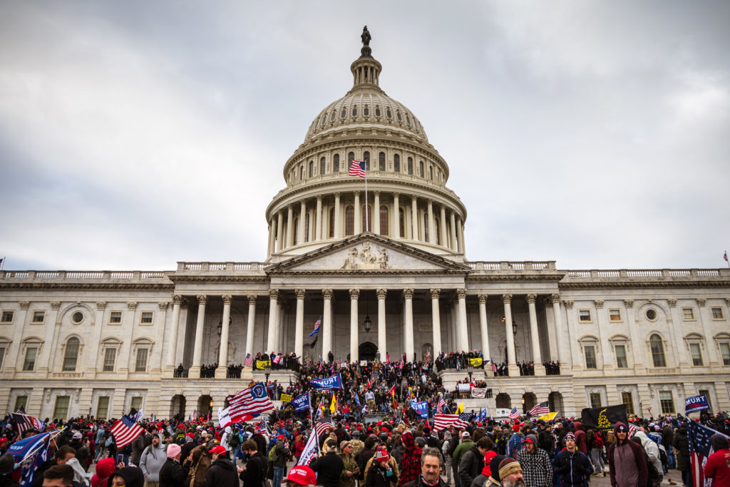 Pro Trump supporters storm US Capitol January 6 2021 Washington DC 15 most iconic buildings in America