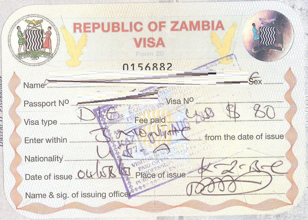 victoria falls in zambia zambia zambia visa application zambia visa