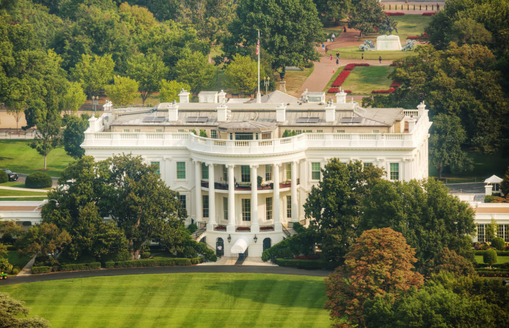 view White House Washington DC 15 most iconic buildings in America