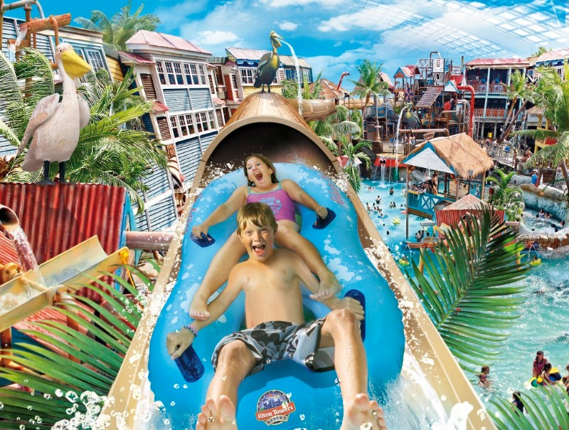 water parks in the Uk