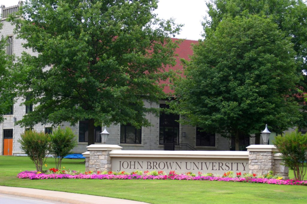 John Brown University Sign 10 Most Expensive Colleges in the US