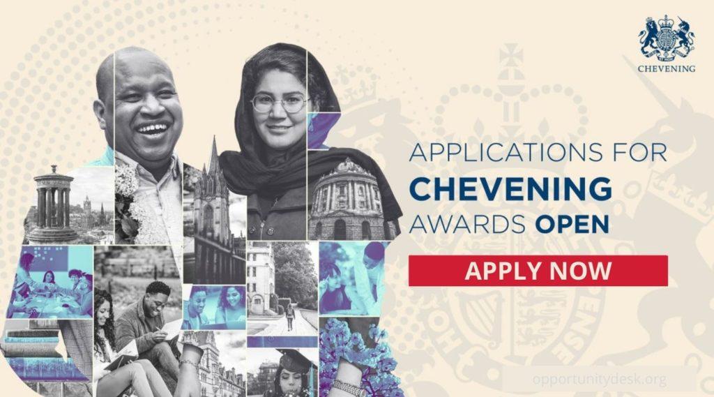 Fully Funded UK Chevening Scholarship for International Students 2022/2023